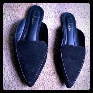 Black Lulus Loafers